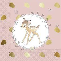 PROCOS - Servítky Bambie 33x33cm 20ks