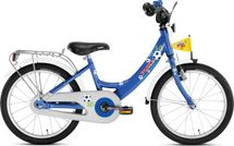 PUKY - Detský bicykel ZL 18 Alu - modrý (futbal)
