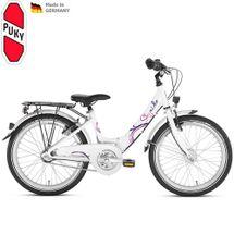 PUKY - detký bicykel SKYRIDE 20-3 Alu biela