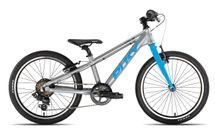 PUKY - Detský bicykel S PRO 20-7 Alu - strieborná/modrá
