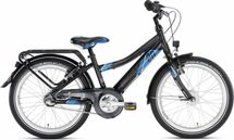 PUKY - detský bicykel CRUSADER 20-3 Alu čierny