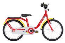 PUKY - Detský bicykel Z8 - červený 2019