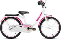 PUKY - Detský bicykel Z8 - Edition - bielo / ružový