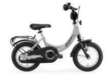 PUKY - Detský bicykel ZL 12 Alu -sivá/čierna 2019