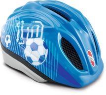 PUKY - Prilba - modrá Futbal - veľkosť M/L