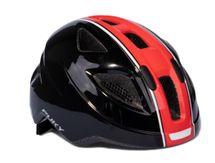 PUKY - Prilba PH 8-M - čierna/červená - veľkosť 51-56 cm