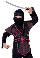 RAPPA - Karnevalový kostým Bojovník Ninja S