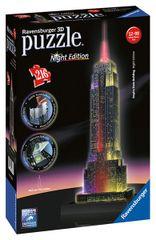 RAVENSBURGER - Puzzle 3D Ravensburger Empire State Building - nočná edícia 216