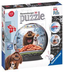 RAVENSBURGER - Tajný život maznáčikov puzzleball 72 dielikov