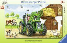 RAVENSBURGER - Traktor Na Statku 15D