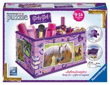 RAVENSBURGER - Úložná Krabica Kôň 3D 216D