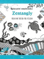 Relaxační omalovánky: Zentangly - Kreativní kresba pro každého