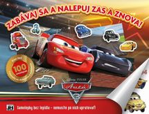 Samolepkový album/ Cars - Disney/Pixar