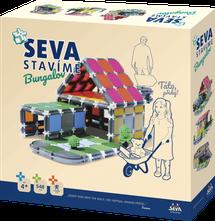 SEVA - Seva stavebnica Bungalov 548 dielikov