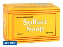 SIDERIUS - Sulfact Soap – medicinálne sírové mydlo na akné 100g
