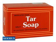 SIDERIUS - Tar Soap – medicinálne mydlo na psoriázu, seboreu, lupiny a ekzémy 100g