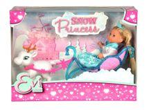 SIMBA - Bábika Evička Snehová princezná so saňami