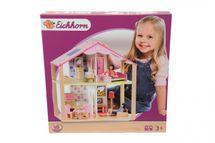 SIMBA - Drevený domček pre bábiky s prísl.