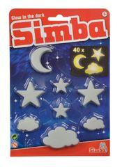 SIMBA - Gid svietiace mráčky, mesiac, hviezdy 40 dielov