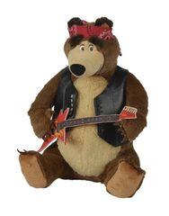 SIMBA - Máša a medveď Medveď Míša rocker 30 cm, hrajúci