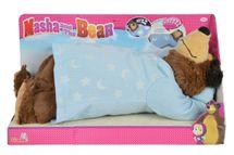 SIMBA - Máša a medveď Mišo plyšový chrápajúci 40 cm