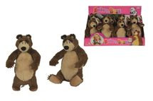 SIMBA - Máša A Medveď Plyšový Medveď 25 Cm