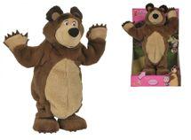 SIMBA - Máša a medveď Plyšový tancujúci medveď 35 cm