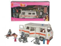 SIMBA - Masha and the Bear Ambulance playing set