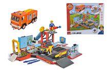 SIMBA - Požiarník Sam 2v1 Jupiter a hasičská stanica 9251029