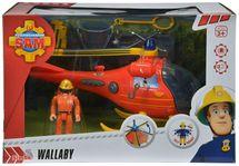 SIMBA - Požiarnik Sam Vrtuľník s figúrkou 9251661