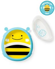 SKIP HOP - Zoo 2v1 - tanier a miska včielka