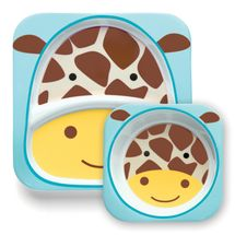 SKIP HOP - Zoo Jedálenský set - Žirafa