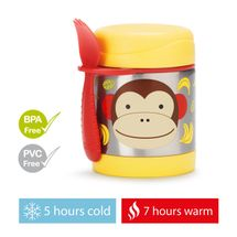 SKIP HOP - Zoo Termoska na jedlo s vidl. opička