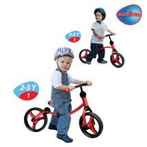 SMART TRIKE - Odrážadlo Running Bike 2-in-1, Červeno-čierne