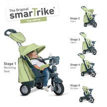 SMART TRIKE - Trojkolka Explorer 5 v 1, zelená