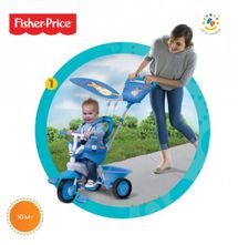 SMART TRIKE - trojkolka Fisher Price 146 Elite blue