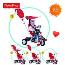 SMART-TRIKE - trojkolka Fisher Price 320 Charisma 4v1 Červená