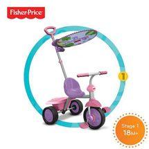 SMART-TRIKE - trojkolka Fisher Price 330 Glee Plus 2v1 Ružovo-fialová