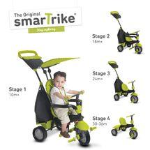 SMART TRIKE - Trojkolka Glow 4 v 1, zelená