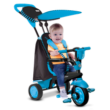 SMART TRIKE - Trojkolka Spark - Black/blue