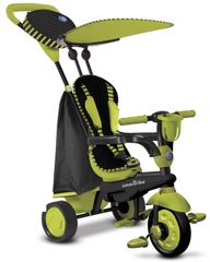 SMART TRIKE - Trojkolka Spark - Black/green