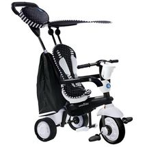 SMART TRIKE - Trojkolka Spark - Black/white