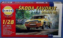 SMĚR - MODELY - Škoda Favorit Rallye 96 1:28