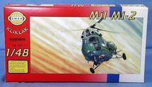 SMĚR - MODELY - Vrtuľník Mi 2 1:48