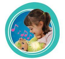 SMOBY - 210107 bábika Minikiss Dou Dou so svetlom a melódiou