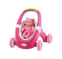 SMOBY - 210201 Chodítko - kočiarik pre bábiku Minikiss