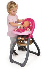 SMOBY - 220310 jedálenská stolička Baby Nurse pre bábiku