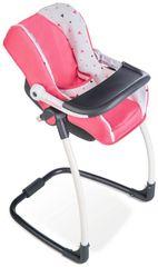 SMOBY - 3v1 Autosedačka a stolička MC&Q pre bábiky