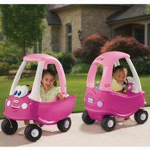 SMOBY - autíčko Cozy Coupe ružové 630750