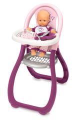 SMOBY - Baby Nurse Jedálenská Stolička Pre Bábiky